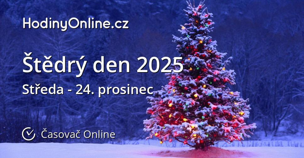 Štědrý den 2025