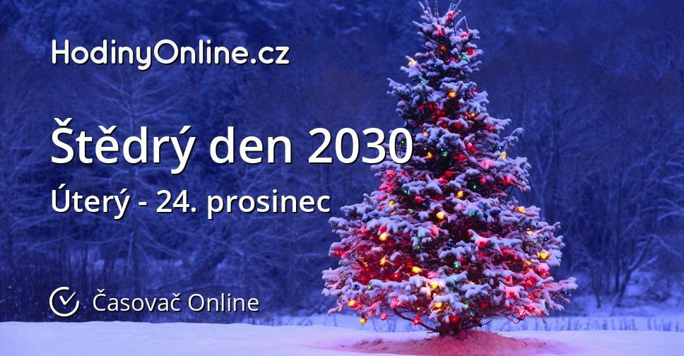 Štědrý den 2030