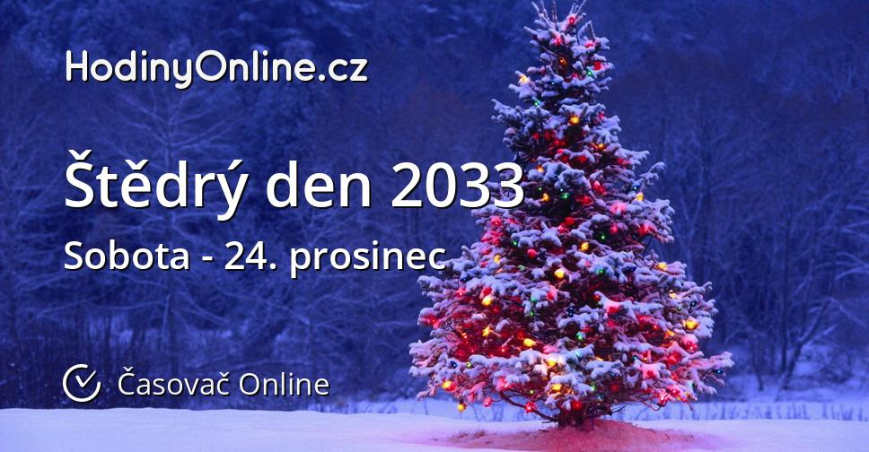 Štědrý den 2033