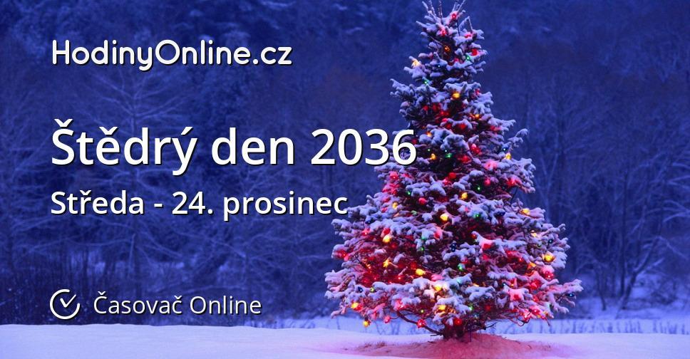 Štědrý den 2036