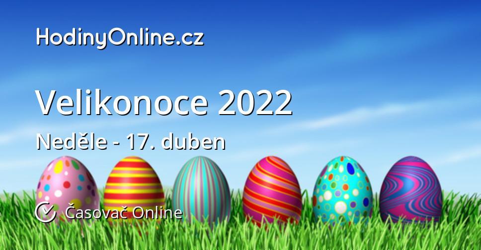 Velikonoce 2022